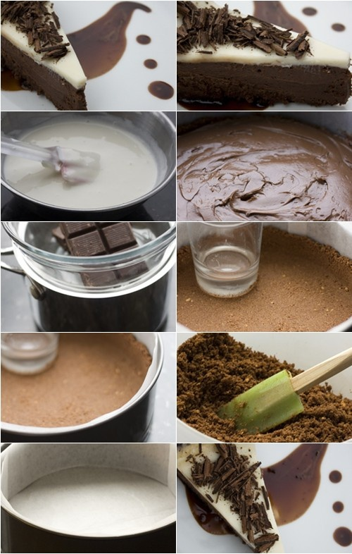 Nutella Cheesecake with Mocha Affogato | Nutella Sweets | Pinterest
