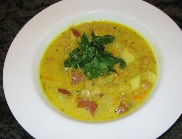 Moroccan Chickpea Soup   Epicurean taste bud delights   Pinterest