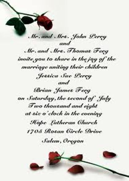 Couple Hosting Wedding Invitation Wording is an amazing ideas you had to choose for invitation design