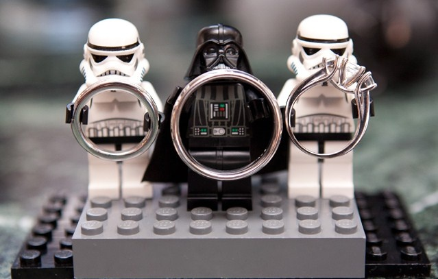 This wedding has gone to the dark side ;)