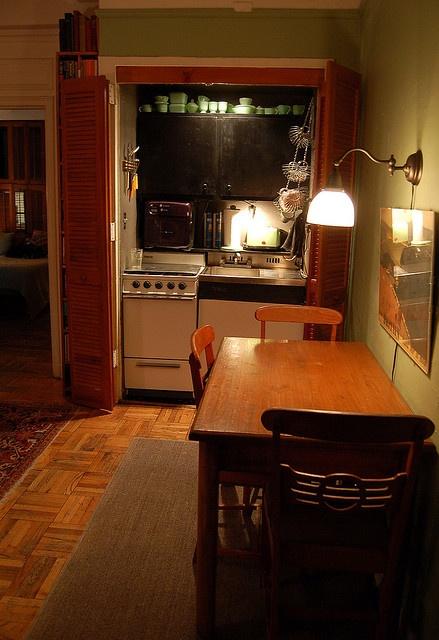 Pullman Kitchen Design : genuine, NYC Pullman Kitchen  Small House Interiors  Pinterest