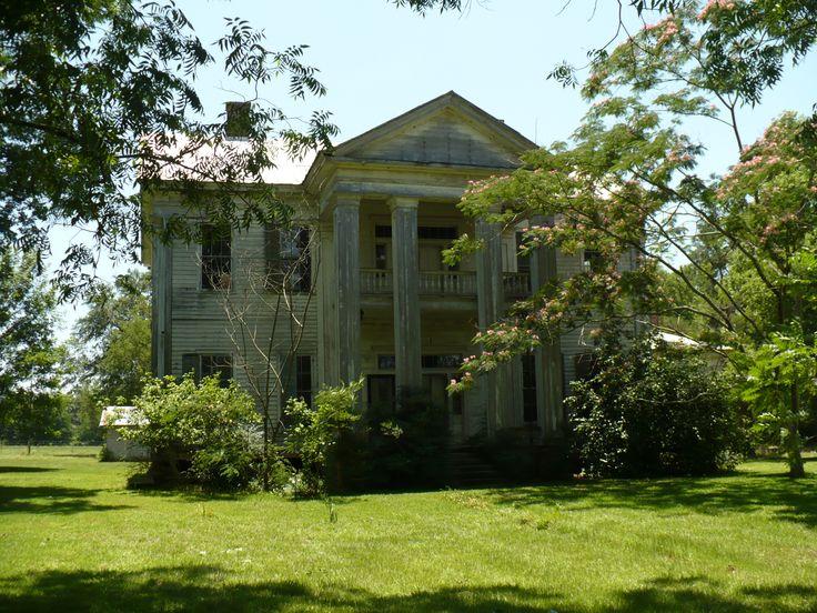 Alabama Plantation Lonely Houses Pinterest