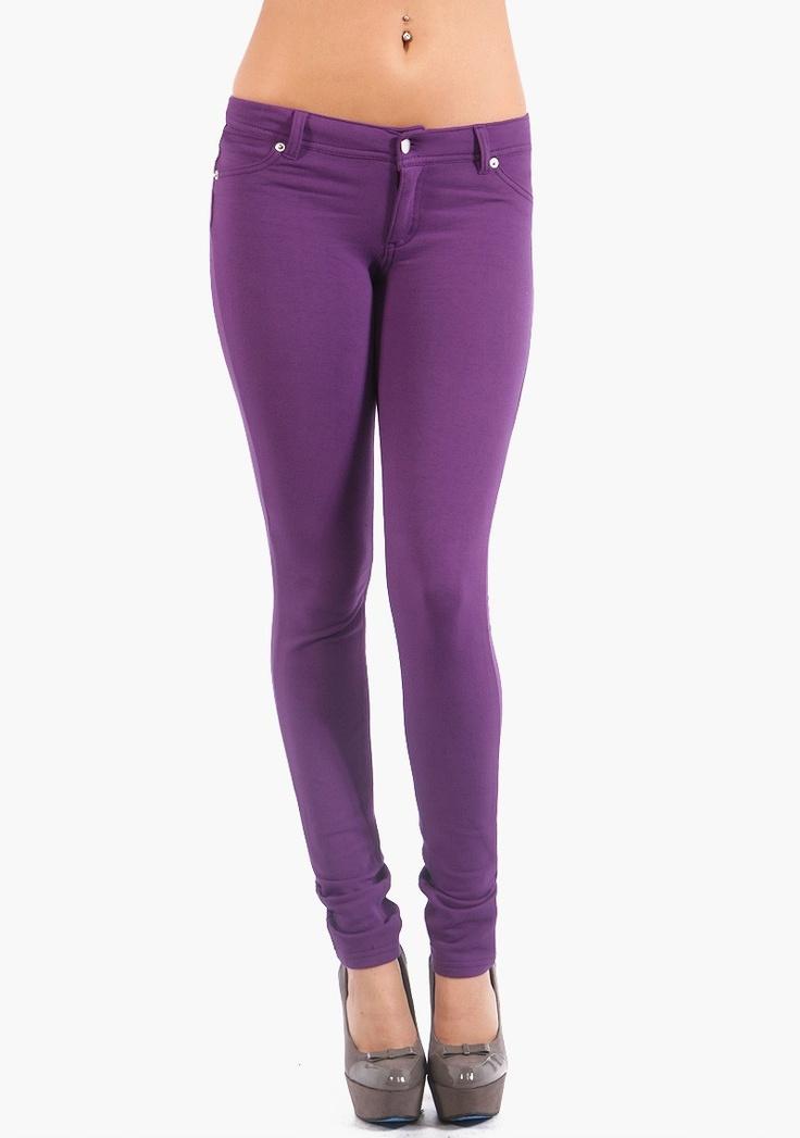 Фиолетовые брюки
