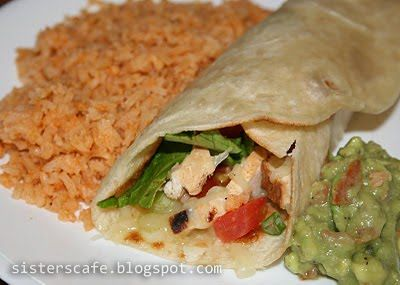 Grilled Chicken Wraps - can be made as a tostada, too. | Weeknight ...