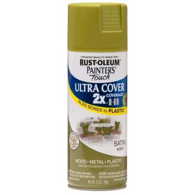 Rustoleum Countertop Paint Earth : Rust-Oleum Painters Touch 2X 12-oz. Satin Eden General Purpose Spray ...