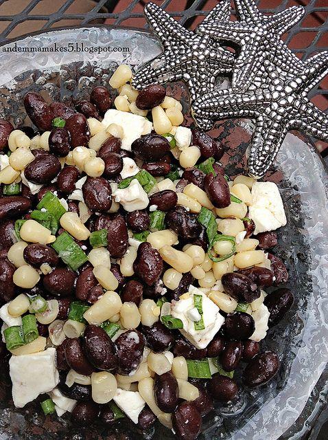 Black Bean & Feta Salsa | YUM-O | Pinterest