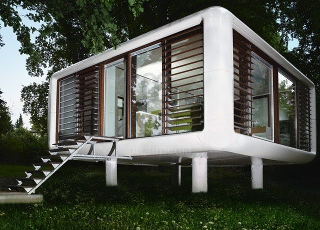 Loft cube house homesteads pinterest - Wooden cube house plans ...