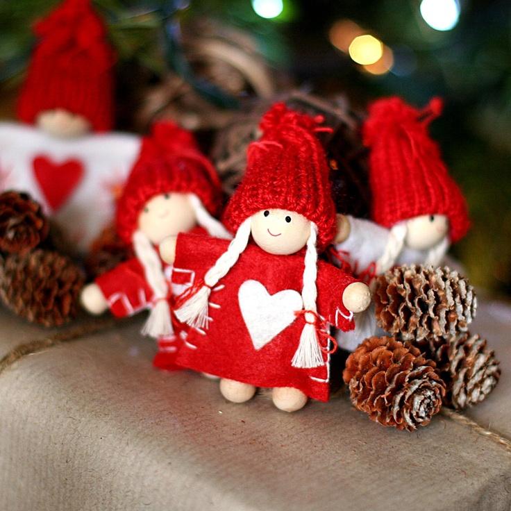Christmas Decoration Dolls Ideas Decorating