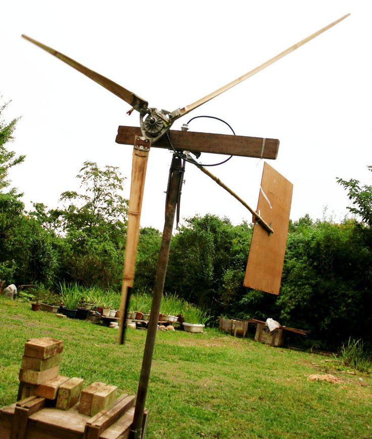 Wind Turbine Blades from Bamboo   Bamboo   Pinterest