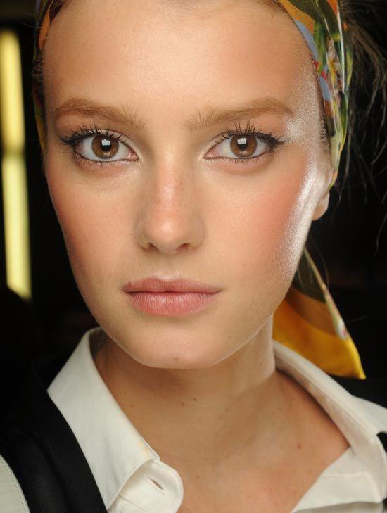 Dolce & Gabbana Spring/Summer 2013 show makeup look