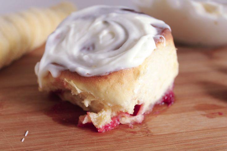 Raspberry Lemon Rolls — Pedantic Foodie   Breakfast!   Pinterest