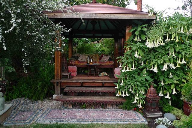 Backyard Japanese Tea House : Serene  Garden Spaces  Pinterest