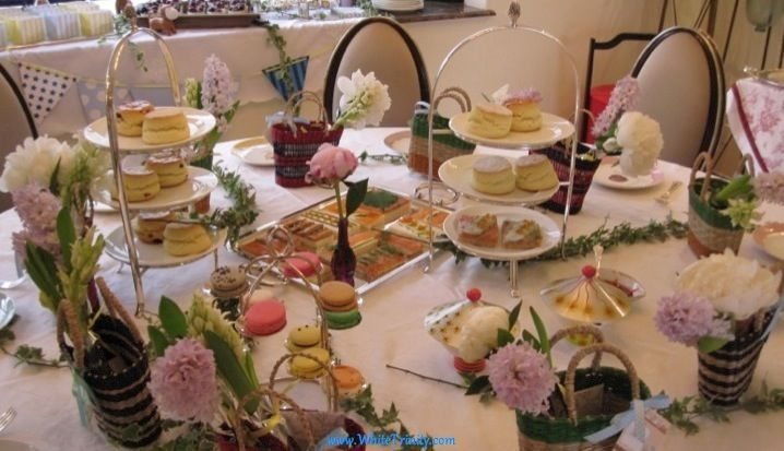 afternoon tea table decorations afternoon tea wedding