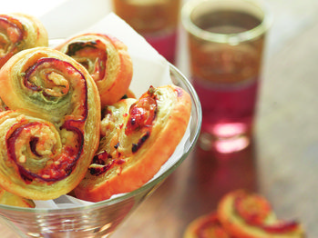 "Prosciutto, Sage, and Parmesan Pinwheels"" from Cookstr.com #cookstr"