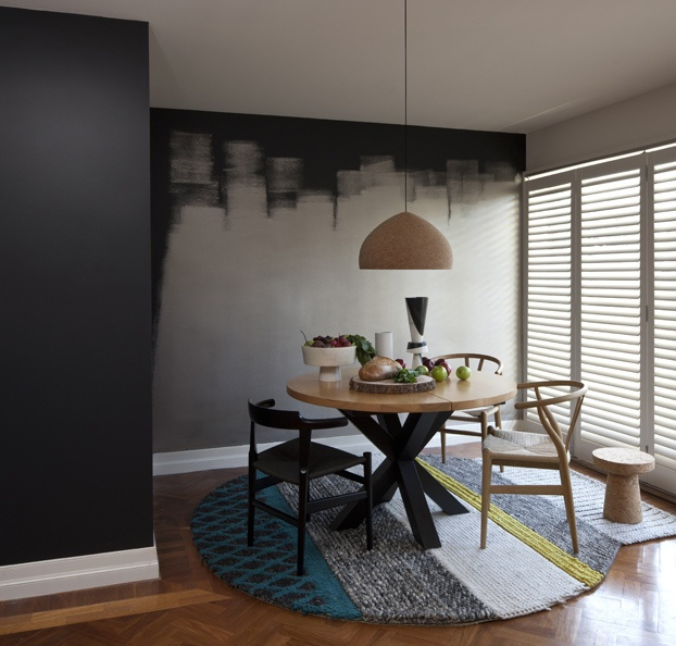 Wall Paint Treatment Interiors Contemporary Cool