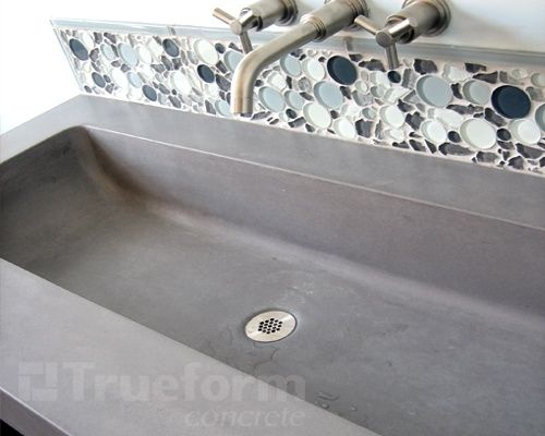 Concrete Trough Sink : concrete trough sink:) Ideas for Home Pinterest