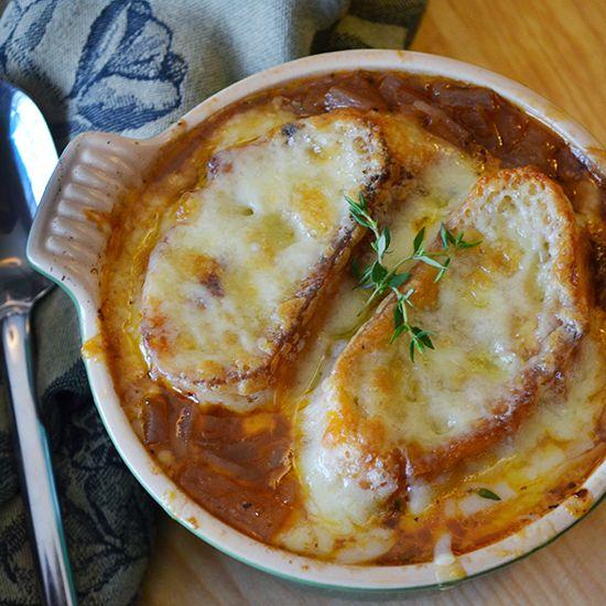 Gratinée des Halles... The Best Onion Soup - Hungry Crowd