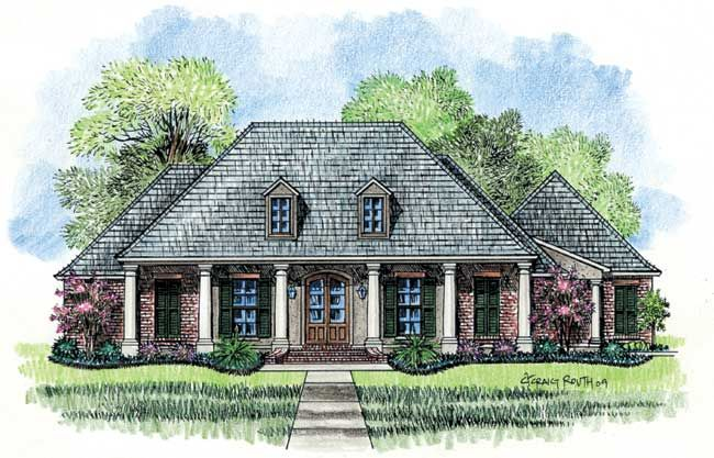The Magnolia House Plan For The Home Pinterest