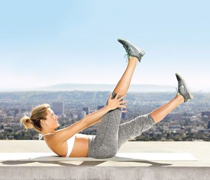5 Minutes to Flat Abs: Workouts!  For that hard spot between your hips and belly button... work-out
