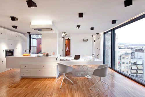 Unique Artistic Lighting Concept in a Barcelona Apartment