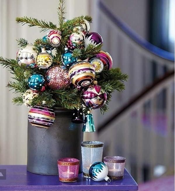Tabletop christmas trees decorated | Christmas | Pinterest