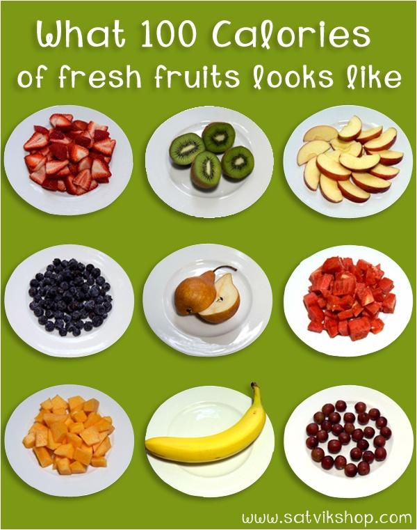 fruit platter calories