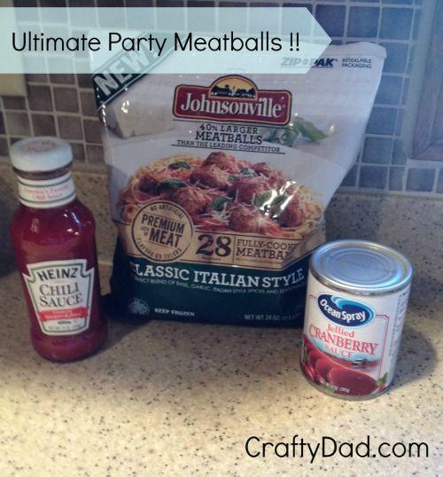 Ultimate Party Meatballs Recipe — Dishmaps