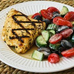 Grilled Fish with Garlic, Basil, and Lemon (Halibut, Tilapia, or Mahi ...