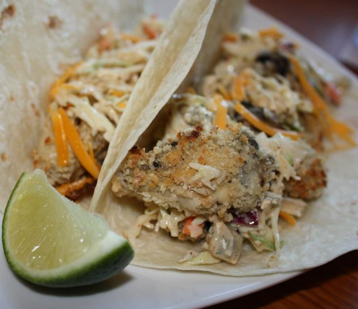 Oyster Taco | Northwest Seafood Recipes | Pinterest