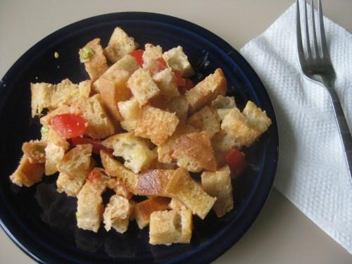 tomato bread salad | Salads and Dressings | Pinterest