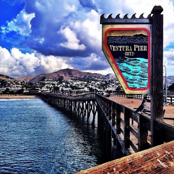 Ventura pier california central coast region pinterest for Ventura pier fishing