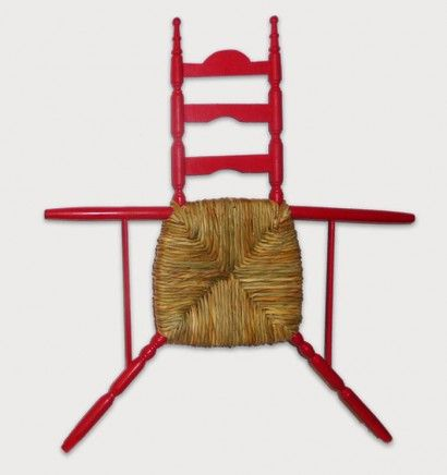 Flat chair by Jacques Carelman