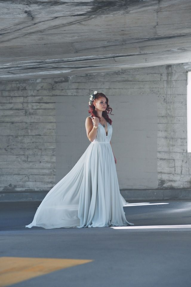 fresh edgy alternative bridal styles