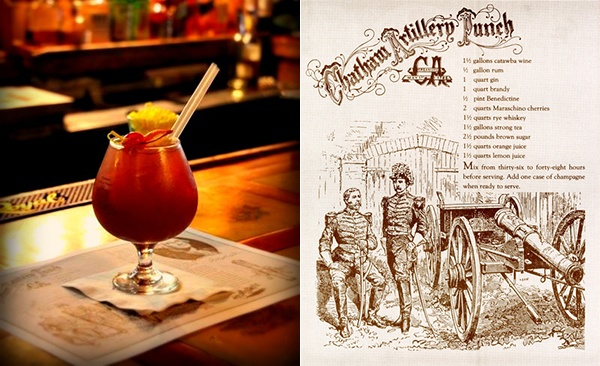 Chatham Artillery Punch.....Savannah's signature drink. Named after ...
