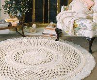 Homemade Crocheted Rug Patterns