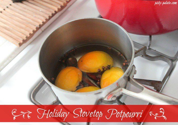Holiday Spice simmering Stovetop Potpourri #PickyPalate