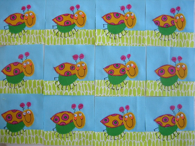 cutie bugs | Stitchin' | Pinterest