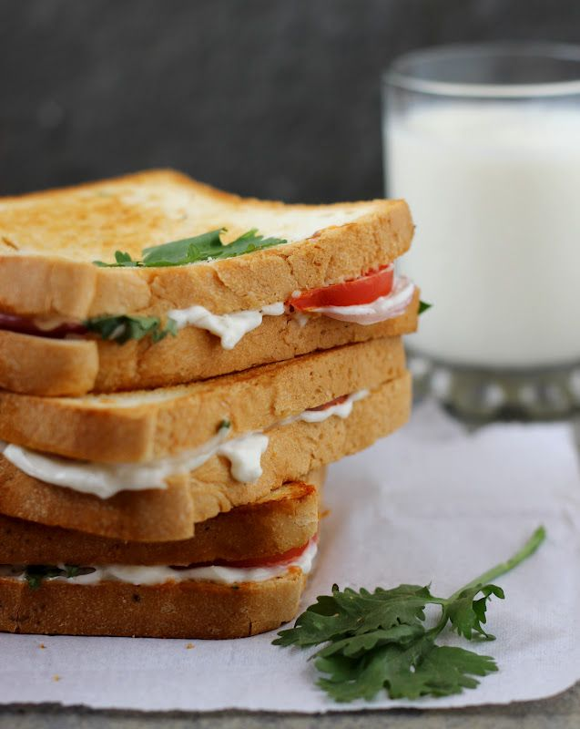 Toasted Tomato and Mayo Sandwich | On the Table | Pinterest