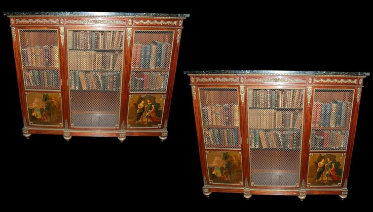 Image Result For Mahagony Bookcases