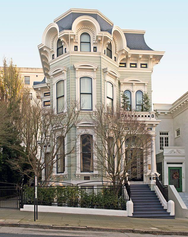 Pin by maryann velin denike on victorian homes pinterest for San francisco victorian houses