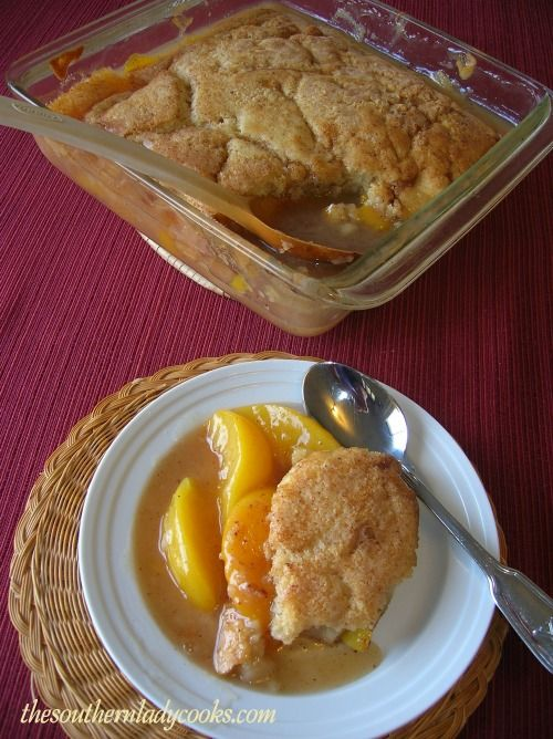 ... Lady Cooks: PEACHY PEACH CRISP. Can use canned peaches or fresh