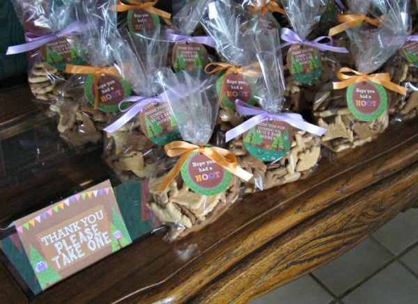 Baby Shower Favors With Animal Crackers ~ Animal cracker favors parties showers and