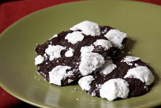 Erin's Food Files » Chocolate Espresso Snowcaps