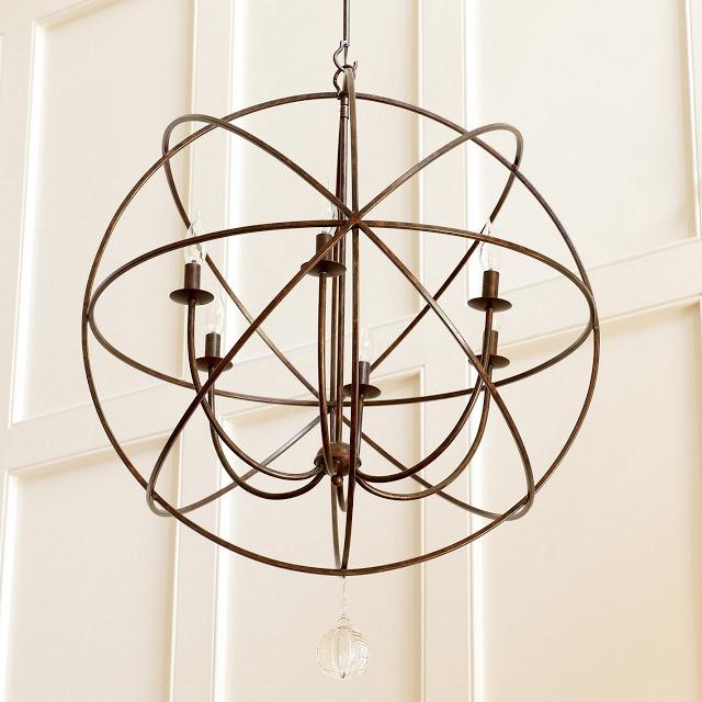 ballard designs orb chandelier jcc smc pinterest