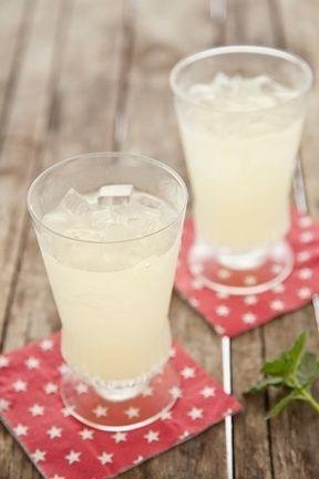 Sparkling Mint And Ginger Lemonade | Drinking | Pinterest