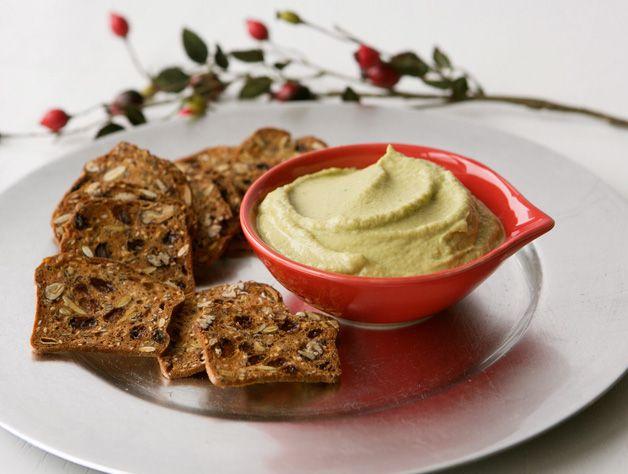 Artichoke heart hummus. | food I say I will make but probably won't ...