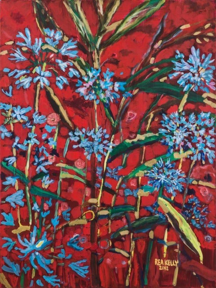 "La Riata Garden 36"" x 48"" 2012 Acrylic - at Sidestreet Gallery, Prince ..."