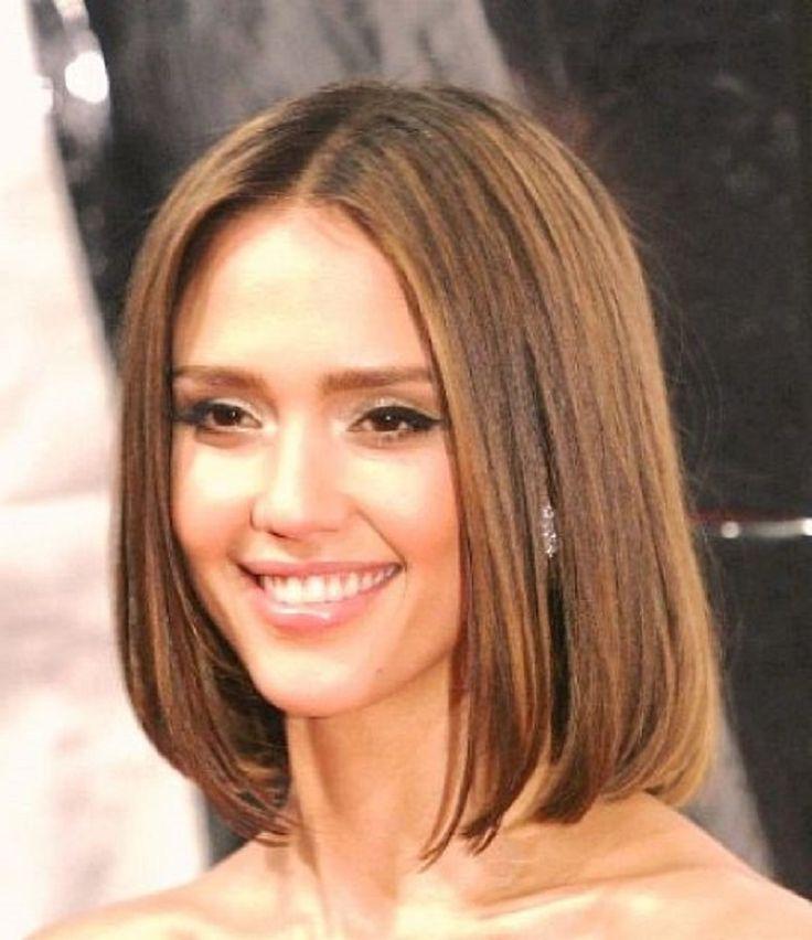 прическа на средние редкие волосы фото