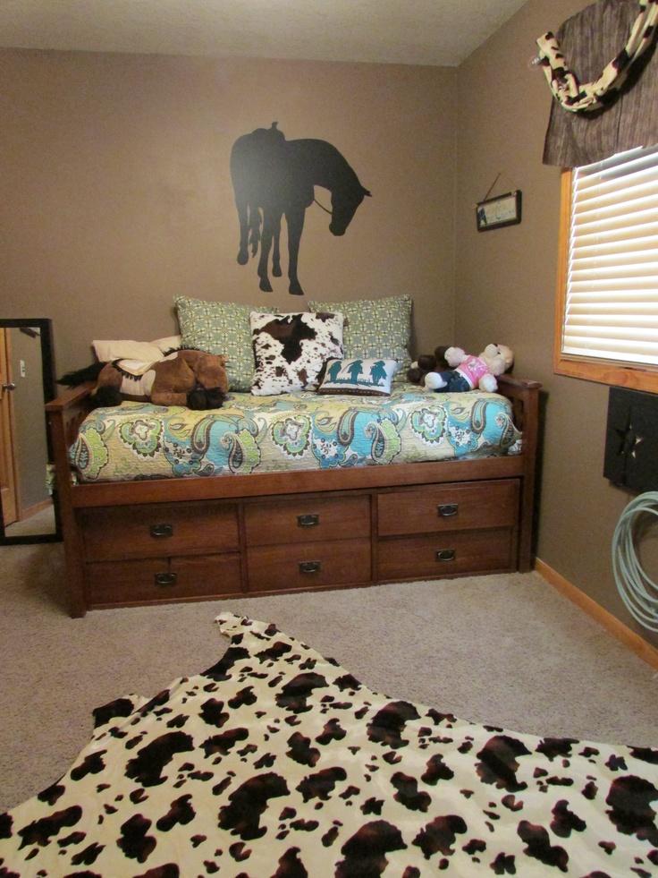 Western Teen Horse Decor Horses In The Home Pinterest