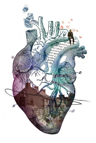 HEART// Art Print by Matt McCann
